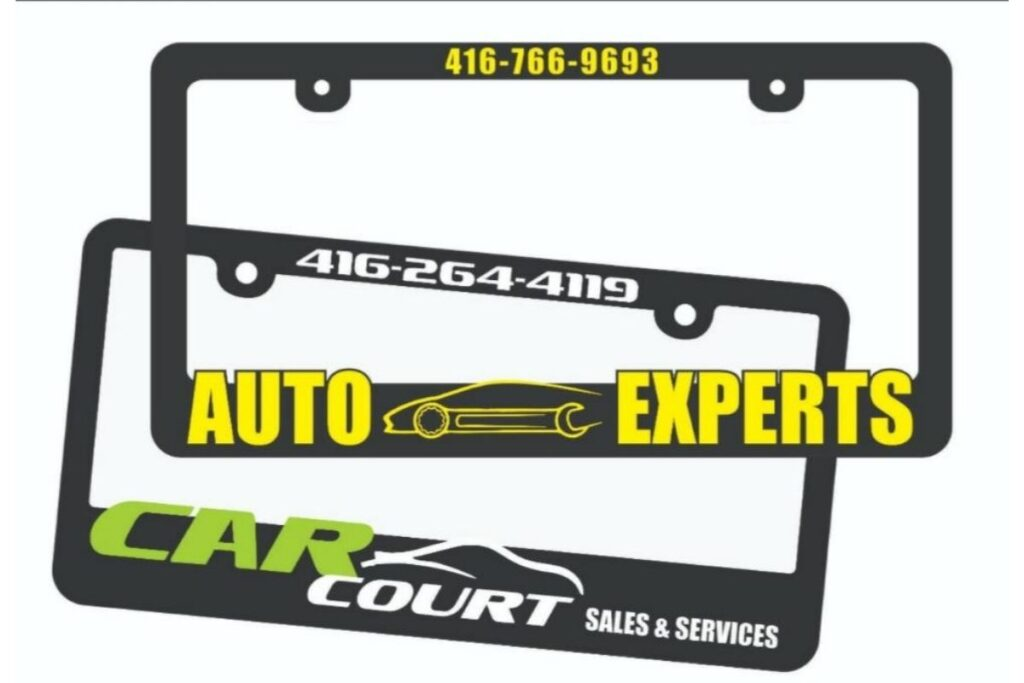 Raised License Plate Frame - A Great Way to Display Your Car