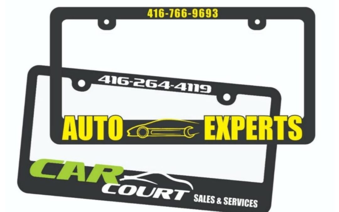Raised License Plate Frame – A Great Way to Display Your Car
