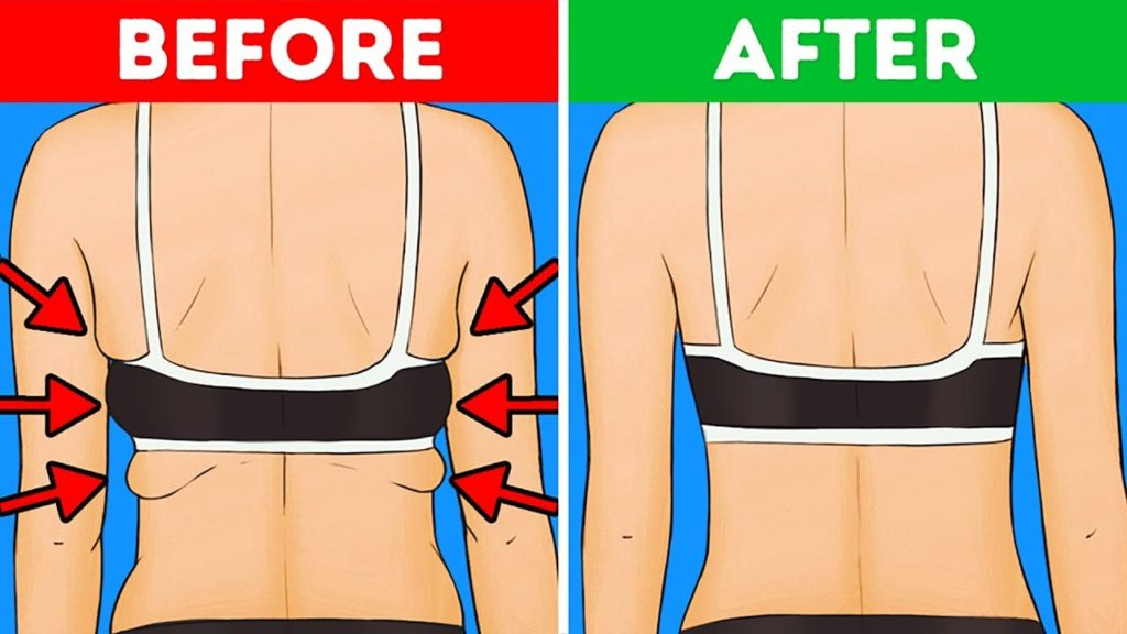 Exercises that will keep you away from Back and Armpit fat-20 mins effort