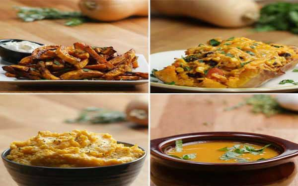 Winter Squash 4 Ways